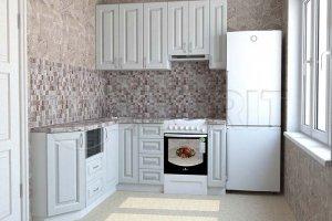 Белая кухня - Мебельная фабрика «Колорит»