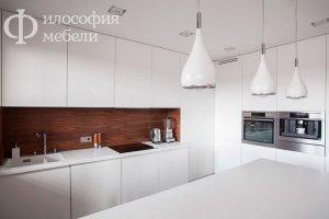 Белая КУХНЯ №7 - Мебельная фабрика «Философия мебели»