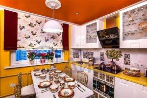 Белая Кухня Фьюжн - Мебельная фабрика «ДиВа мебель»