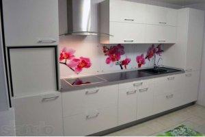 Белая кухня глянец - Мебельная фабрика «Мебельный Стиль»