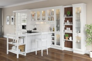 Белая кухня NICOLE - Мебельная фабрика «Giulia Novars»