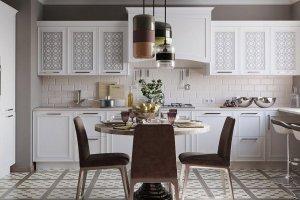 Белая кухня Палермо - Мебельная фабрика «Командор»