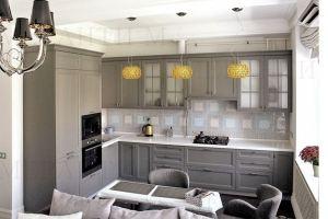 Белая кухня с фасадом Massivholz 9 Oak - Мебельная фабрика «Меранти М»