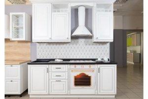 Белая кухня Тоскана Кристалл - Мебельная фабрика «Хомма»
