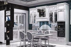 Белая кухня Йорк - Мебельная фабрика «Анонс»