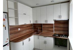 Белая матовая кухня - Мебельная фабрика «МЭК»