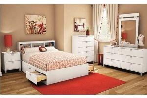 Белая мебель для спальни Дося - Мебельная фабрика «Мир Нестандарта»