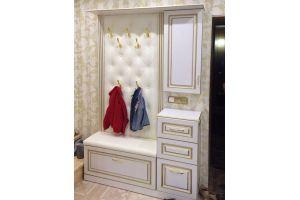 Белая прихожая - Мебельная фабрика «ЭльфОла»