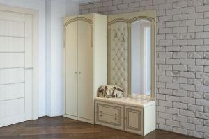 Белая прихожая классическая Белла - Мебельная фабрика «Люкс-С»