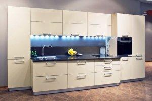 Белая современная кухня 7 - Мебельная фабрика «Вертикаль»
