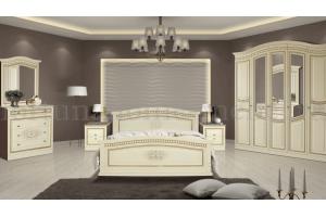 Белая спальня afrodita - Мебельная фабрика «Fortuna Home»