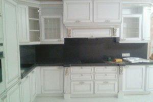 Белая угловая кухня - Мебельная фабрика «Формула уюта»