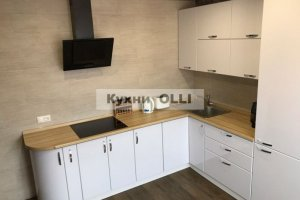 Белая угловая кухня - Мебельная фабрика «Кухни OLLI»
