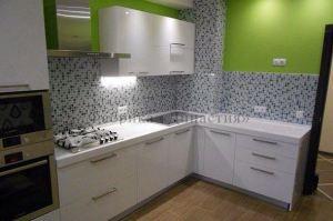 Белая угловая кухня - Мебельная фабрика «Династия»