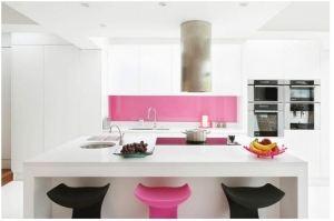 Белая угловая кухня с островом - Мебельная фабрика «Булат»