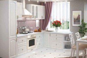 Белая уютная кухня верона - Мебельная фабрика «Стайлинг»
