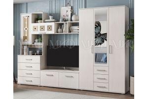 Гостиная Белла сандал - Мебельная фабрика «МиФ»
