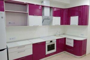 Бело-розовая кухня - Мебельная фабрика «ДОН-Мебель»