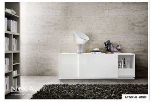 Комод белый глянцевый Нэнси - Мебельная фабрика «NIKA premium»