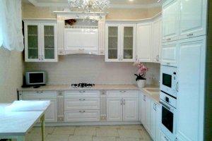 Белый кухонный гарнитур - Мебельная фабрика «Люкс-С»