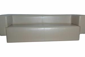 Белый прямой диван - Мебельная фабрика «Лина-Н»