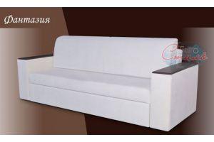 Белый прямой диван Фантазия - Мебельная фабрика «Евростиль», г. Ульяновск