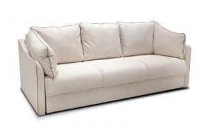 Белый прямой диван Сонет 5 - Мебельная фабрика «Мебель на Черниговской»