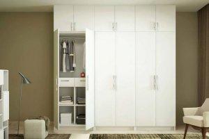 Белый распашной шкаф - Мебельная фабрика «MipoLine»