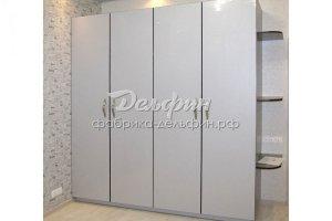 Белый Распашной шкаф - Мебельная фабрика «Дельфин»