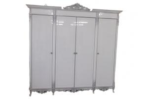 Белый шкаф 4 створки - Мебельная фабрика «Вист»