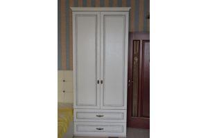 Белый шкаф для спальни - Мебельная фабрика «Темп»