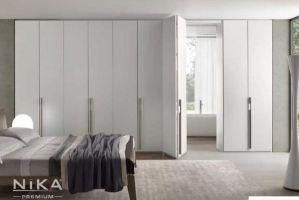 Белый шкаф гармошка Афины - Мебельная фабрика «NIKA premium»