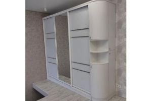 Белый шкаф-купе - Мебельная фабрика «Абис»