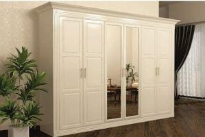 Белый шкаф Вениамин - Мебельная фабрика «Мир Нестандарта»