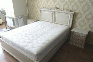Белый спальный гарнитур - Мебельная фабрика «Meberotti»