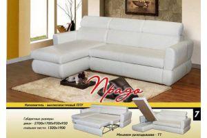 Белый угловой диван Прадо ТТ - Мебельная фабрика «Новый Стиль»