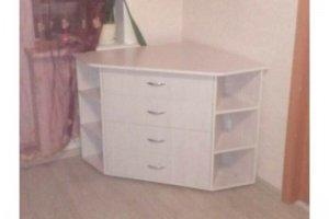 Белый угловой комод - Мебельная фабрика «Народная мебель»