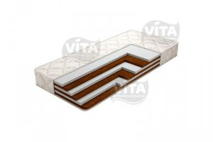 Беспружинный матрас Orto Mix Holl - Мебельная фабрика «Vita»