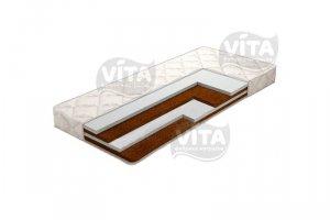 Беспружинный матрас Orto Mix Holl Slim - Мебельная фабрика «Vita»