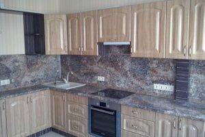Бежевая кухня - Мебельная фабрика «Мебельная мастерская»