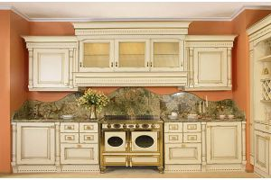 Бежевая кухня Classico  Paola - Импортёр мебели «Latini»