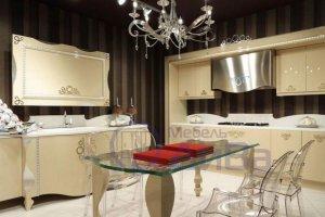 Бежевая Кухня Фьюжн - Мебельная фабрика «ДиВа мебель»