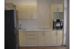Бежевая угловая кухня - Мебельная фабрика «ДОН-Мебель», г. Волгодонск