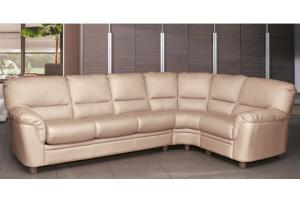 Бежевый угловой диван Оазис - Мебельная фабрика «SID Диваны»
