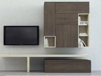 Гостиная стенка Sibox B004 - Мебельная фабрика «Астрон»
