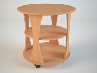 Круглый журнальный стол  - Мебельная фабрика «Маэстро»