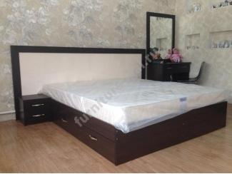Большая кровать с ящиками  - Изготовление мебели на заказ «Игал»