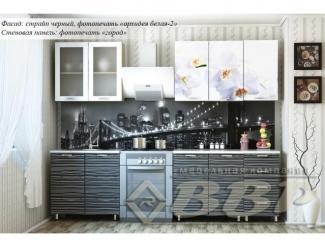 Кухня с фотопечатью Орхидея - Мебельная фабрика «ВВР»