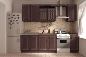 Кухонный гарнитур прямой Ария - Мебельная фабрика «Вестра»