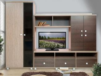 Гостиная стенка Стелла-7 - Мебельная фабрика «Сибирь»